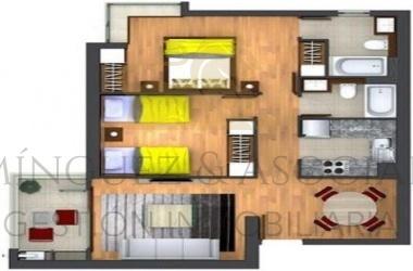 549, Las Heras, Araucanía, 2 Habitaciones Habitaciones, ,1 BañoBathrooms,Departamento,Venta,1200